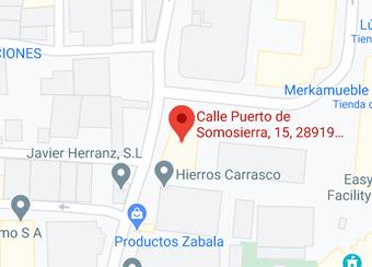 Calle Puerto de Somosierra 15, Leganés