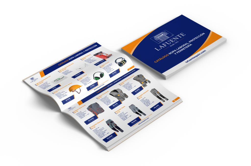 catálogo ropa laboral y protección