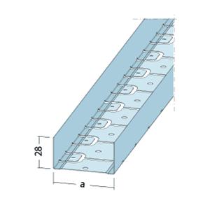 Perfil Vértebra 48 acero galvanizado de Protektor