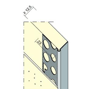 Perfil de cierre 9299 aluminio Protektor en Lafuente