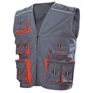 Chaleco Diamond. Vestuario laboral y de protección.