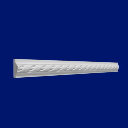 Baquetón N17 de escayola decorativa para pared