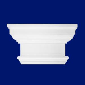 Capiteles para columnas de escayola decorativa