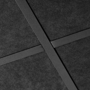 Falso techo Sombra color negro cano recto en Madrid