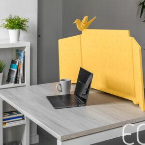 Panel acústico para escritorio