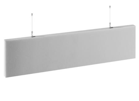 Paneles ecológicos tipo bafle para techos y paredes.