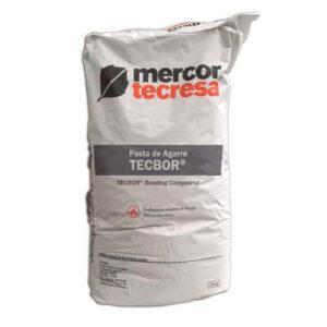 Pasta de agarre Tecbor de Mercor Tecresa para protección pasiva al fuego