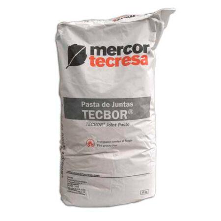 Pasta de juntas Tecbor de Mercor Tecresa para protección pasiva al fuego