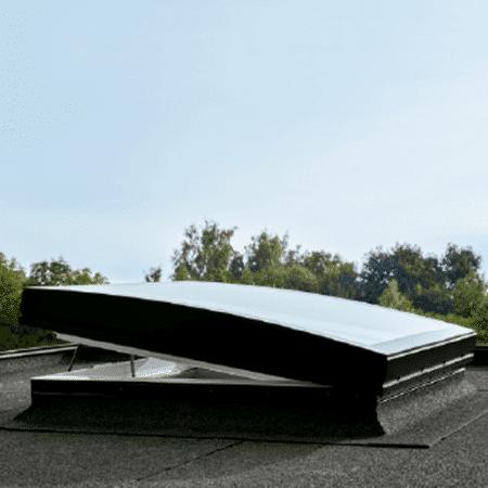 CVP integra con cúpula de vidrio