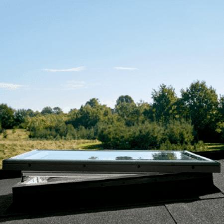 CVP Integra con cúpula de vidrio liso