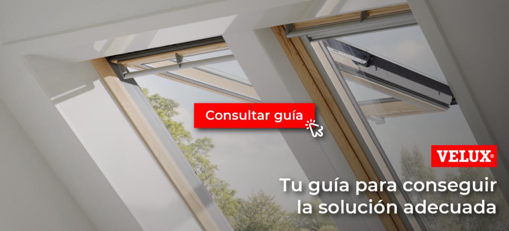 opciones de ventanas de tejado velux en Madrid